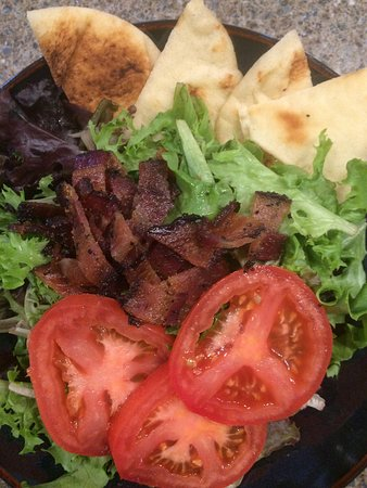 The River Coffee & Cream: BLT Salad.