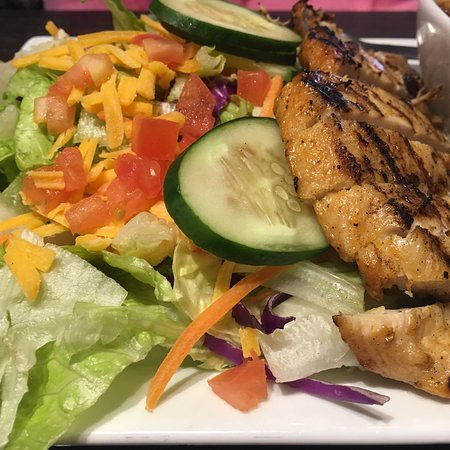 Clarksville, IN: 1/2 of a grilled chicken salad as a part of a soup/salad combo.