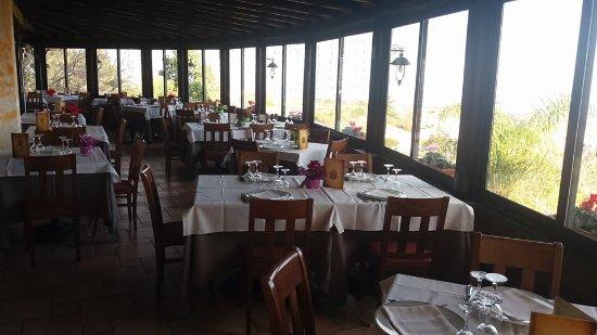 Zafferana Etnea, Italy:  Veranda