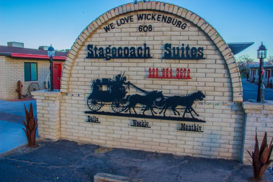 Wickenburg, AZ: Welcome to the Stagecoach Suites!