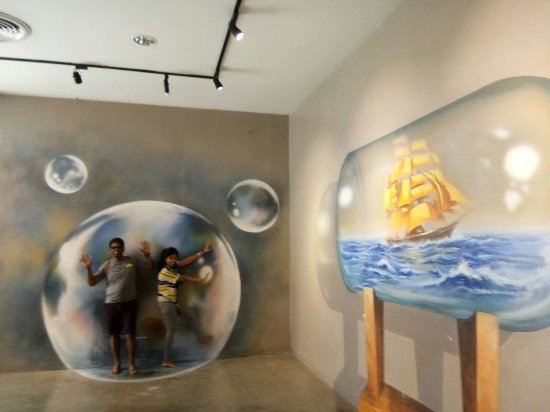 Trick Art Museum Thailand : 3D Gallerryin Venezia Hua Hin