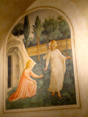 Museo di San Marco : NOLI ME TANGERE DEL BEATO ANGELICO
