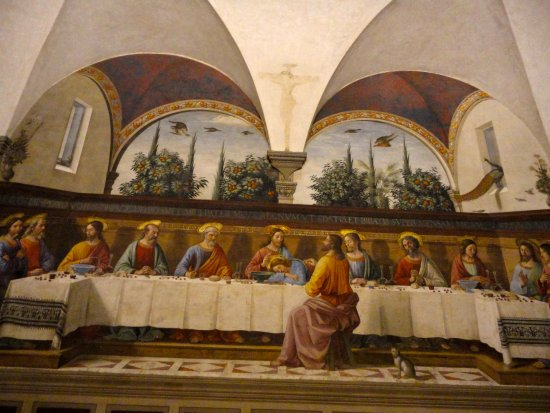 Museo di San Marco : L'ULTIMA CENA DEL GHIRLANDAIO