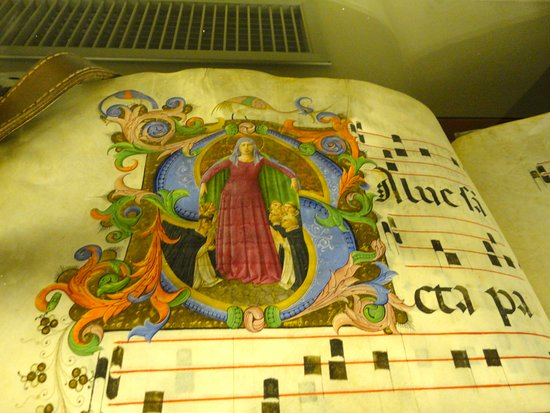 Museo di San Marco : CODICE CONSERVATO NELLA BIBLIOTECA DI MICHELOZZO