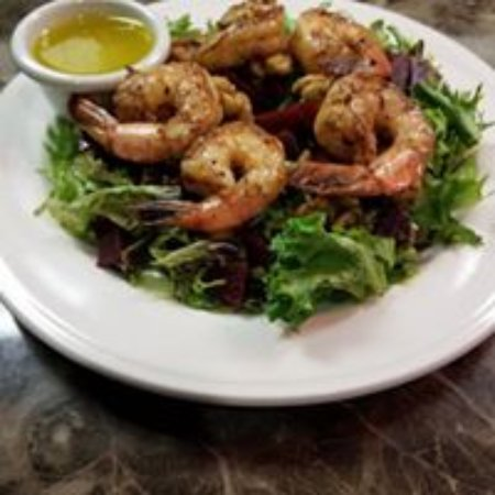 Cisco, TX: JC's has an amazing shrimp salad!