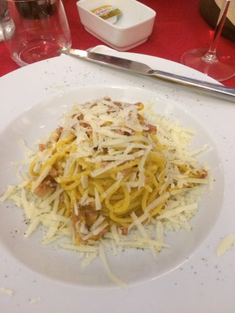 Tessera, Italia: Pasta alla Carbonara