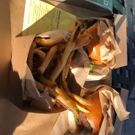 Good burger good fries
