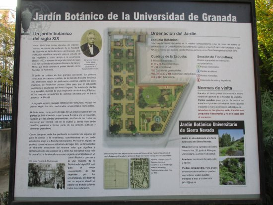Jardin botanico fotograf a de jardin botanico de la for Jardin botanico granada precio