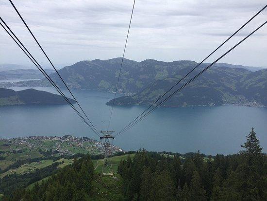 Bergbahnen Beckenried-Emmetten AG: Blick von der Klewenalp auf den Vierwaldstättersee