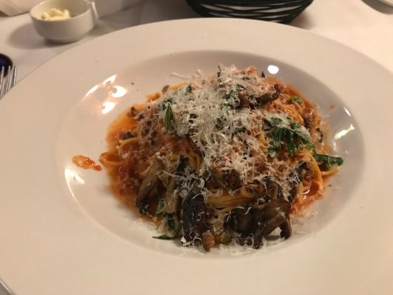 Hamiltons' at First & Main: homemade pasta spaghetti