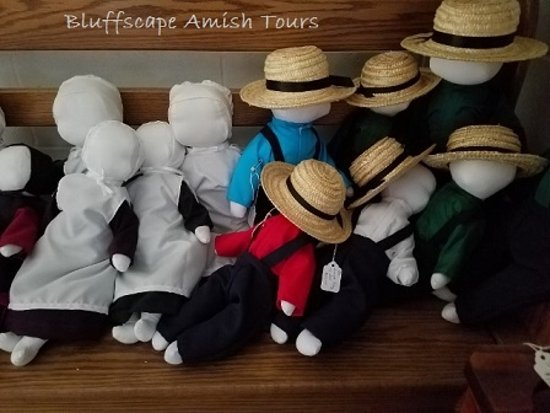 Lanesboro, MN: Amish-made dolls can be found in a few of the Amish shops.