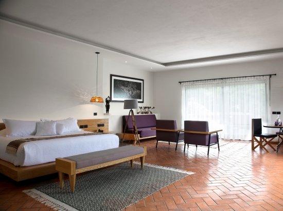 Casa Fernanda Hotel Boutique: Master Suite, expectacular vista a la cordillera del tepozteco, desde su terraza empasta y jacuz