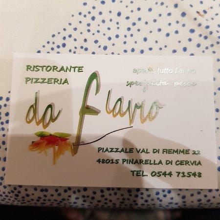 Ristorante pizzeria da flavio pinarella ristorante recensioni numero di telefono foto - Bagno italia giuliana ...