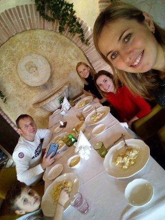 Quando ci viene voglia di mangiare qualcosa d'italiano noi veniamo qui!