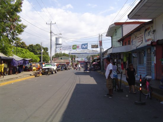 Corinto, Nicaragua: From Market Looking Toward Ship