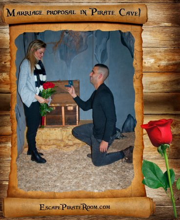 ‪‪Pirate Cave‬: ... and they lived happily ever after :)  Special marriage proposal‬