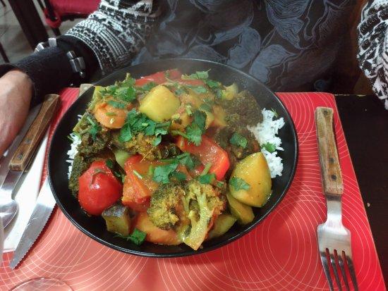 Senglea, Malta: Piatto vegetariano