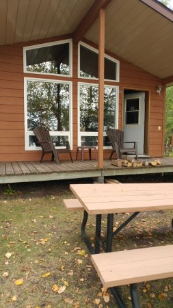Whiteshell Provincial Park, Canadá: Front of Cabin # 5