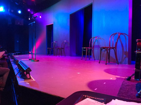 Second City : front row seat view