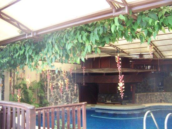 Hotel & Spa Poco a Poco: Covered pool area.
