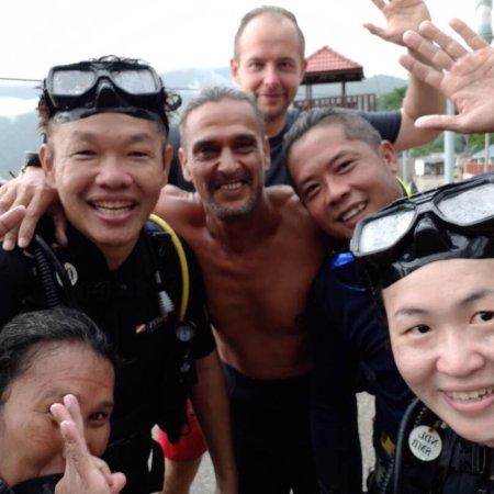 Tekek, Malaysia: Прекрасный дайв центра дружной командой, где можно отдохнуть и обучиться дайвингу.
