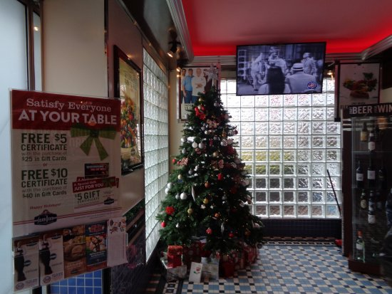 Silver Diner: decorations