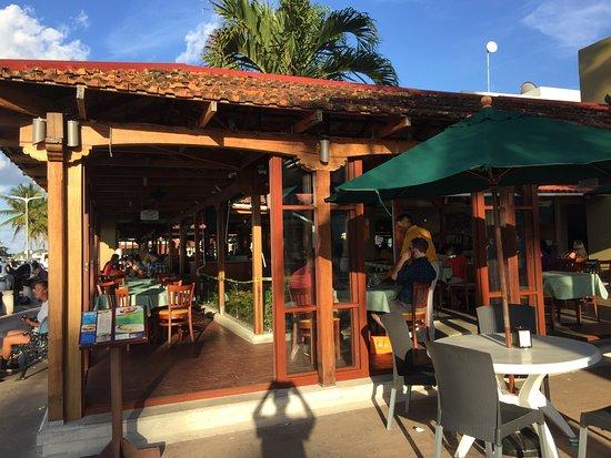 Palmeras Open Air Restaurant Great Atmosphere