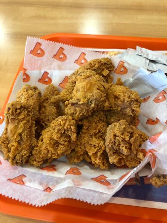 popeyes louisiana kitchen ghost pepper wings were not spicy at all the customer service - Popeyes Louisiana Kitchen Spicy Chicken Wing