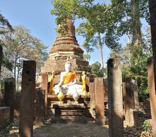 Kamphaeng Phet, Thailand: Alter vor der Chedi
