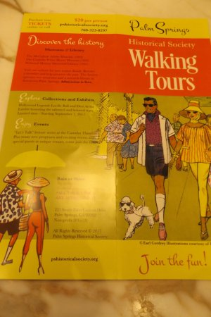 Palm Springs Historical Society: Walking Tours