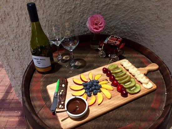Oakbank, Australië: Seasonal Fruit Platter
