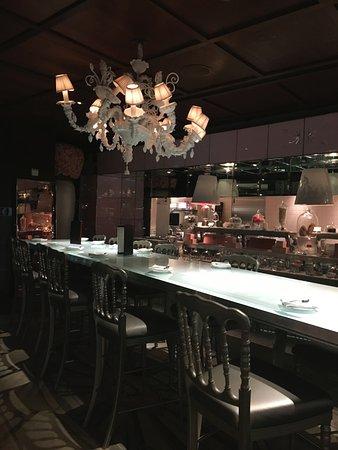 The Bazaar by José Andrés: sala de sobremesa