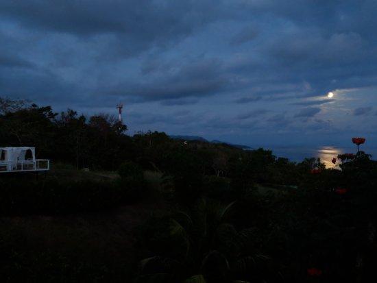 Hotel Casitas Sollevante: Supermoon 2018 view from room. (Apt. Arriba)
