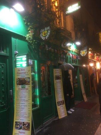 Restaurant au bon couscous dans paris avec cuisine for Yankey cuisine africaine a volonte