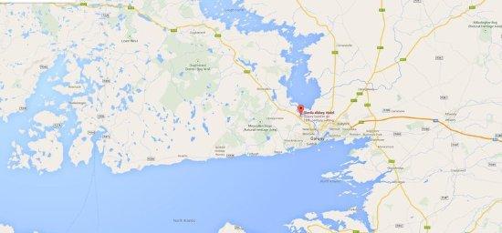 Bushypark, Irland: Map