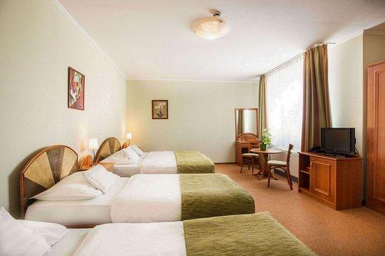 Baross City Hotel: Guest room