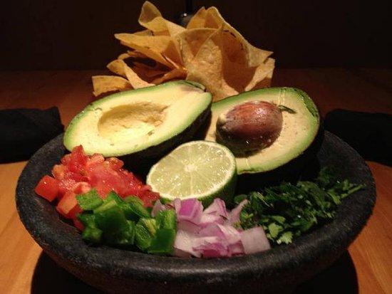 Muskogee, OK: Our Top Shelf Guacamole is prepared table side.