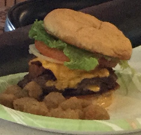 Abilene, KS: Best burgers around! Hand pressed patties topped with tons of yummy toppings!