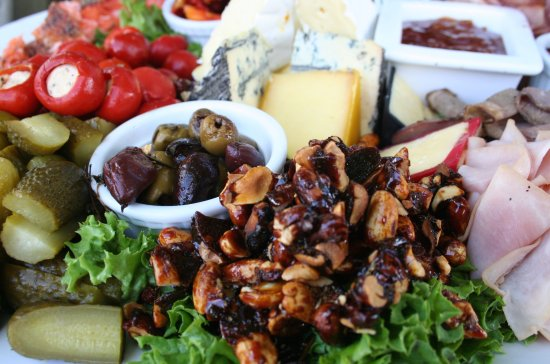 Richmond, New Zealand: Platters to share