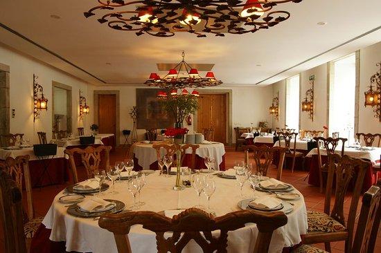 Vila Pouca da Beira, Portugal: Restaurant