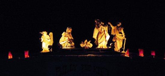 La Posta de Mesilla: Nativity Scene Outside the Restaurant