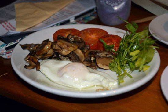 The Abbey Tavern: Breakfast for the vegetarians (could also accommodate vegan)
