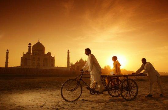 Voyage privé à Agra avec le Taj Mahal...