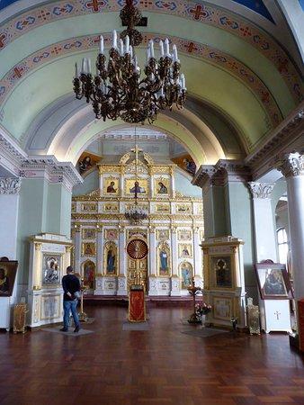 Church of the St Panteleimon: Kirchenschiff