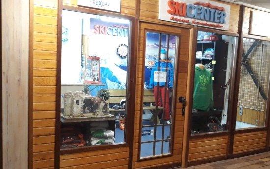 Tienda de Skicenter en Astun