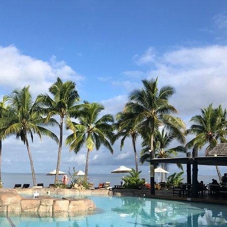 Sonaisali Island, Fiji: The pool