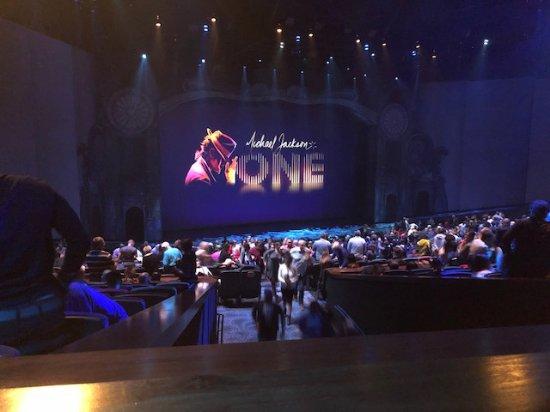 Wondrous Michael Jackson Cirque Du Soleil Theater Seating Chart