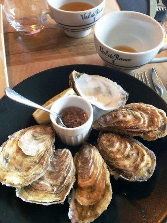 La Richardais, ฝรั่งเศส: huîtres de Cancale
