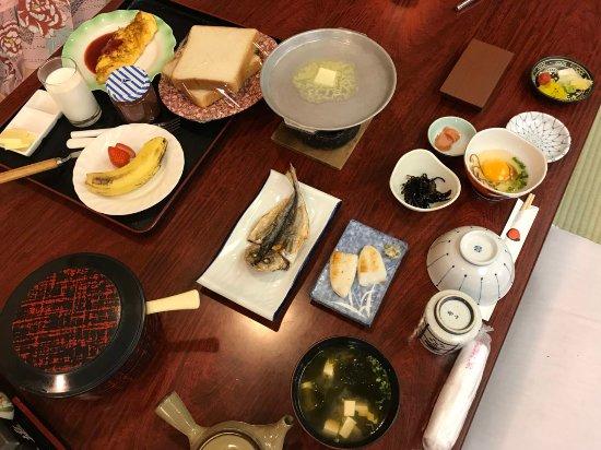 Hinodeya: 早餐
