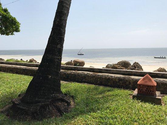 Severin Sea Lodge: Uitzicht over de Indische Oceaan vanaf het terrein
